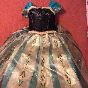 Disney Store Anna Frozen Dress